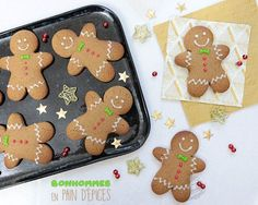 Easy Christmas Cookie Recipes, Christmas Cookies, Biscuits, Gluten Free Cookies, Cookie Desserts, Fall Recipes, Chocolate Chip Cookies, Gingerbread Cookies, Mousse