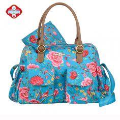 Pip Studio Baby Bag Botanical Glory Aqua