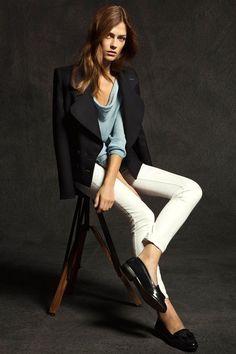 blazer & mocasins #Casual #look #mocasines #plano #shoes #style #blackandwhite #spain #zapatos #streetstyle