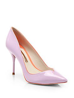 Sophia Webster - Izzy Patent Leather Pumps