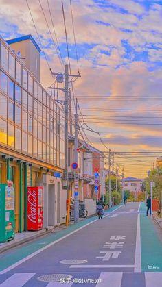Iphone Wallpaper Tumblr Aesthetic, Aesthetic Pastel Wallpaper, Aesthetic Backgrounds, Aesthetic Wallpapers, Aesthetic Japan, City Aesthetic, Aesthetic Anime, Aesthetic Black, Anime Scenery Wallpaper
