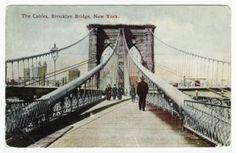 The cables, Brooklyn Bridge, New York (1910)