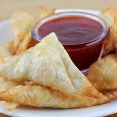 cream cheese wontons... mmmm