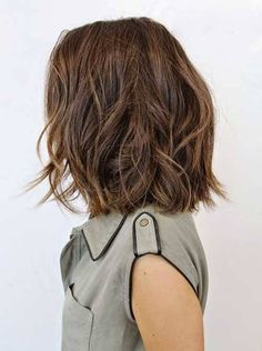 Bob Hairstyle For Thin Wavy Hair