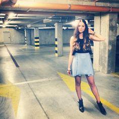Waist Skirt, High Waisted Skirt, News, Instagram Posts, Skirts, Blue, Beautiful, Fashion, Moda