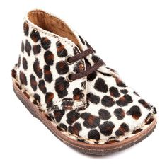 Desert boots pony ecru - PEPE