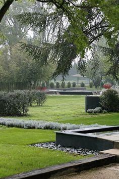 Garden in Southern France by Gérard Faivre
