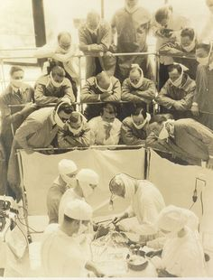 indypendenthistory:  Surgery theater  Teatro quirúrgico