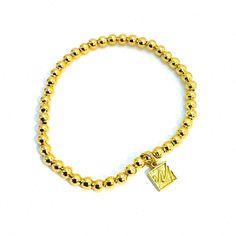 Pulsera Chapa de Oro