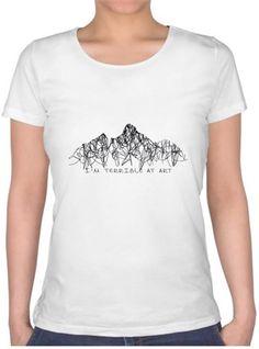 Terrible Art T-shirt Kendin Tasarla - Bayan U Yaka Tişört