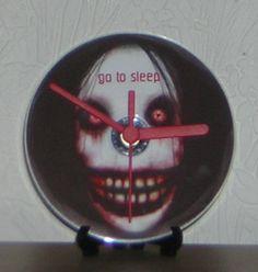 Jeff the Killer CD Desk or Wall Clock