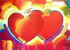 Two Hearts, Ltd Ed Lithograph