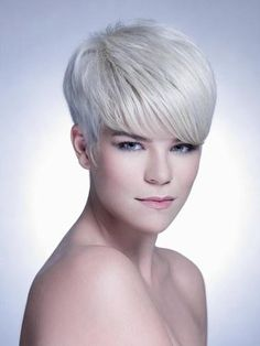 edgy short silver hair | Photos of Pixie Haircuts For Gray Hair