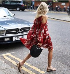 Nice dress, nice shoes!