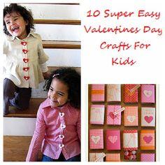 10 Easy Valentines Day Crafts!
