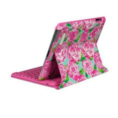Lilly Pulitzzer Keyboard Case For iPad--but I would need an iPad first lol