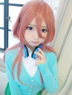 Anime Cosplay Girls, Miku Cosplay, Kawaii Cosplay, Cute Cosplay, Cosplay Outfits, Best Cosplay, Cute Kawaii Girl, Kawaii Anime Girl, Cute Japanese Women