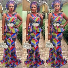 1533 Best Asoebi Skirts And Blouses Images In 2019 African Attire