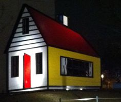 Our House III by Roy Lichtenstein! You can see this sculpture on our Piazza.