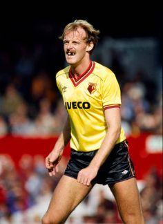 Retro Football, Football Kits, Football Players, Stock Pictures, Stock Photos, Watford Fc, Creative Video, Image Collection, Kicks