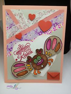 AlliElla Craft: Love bug card