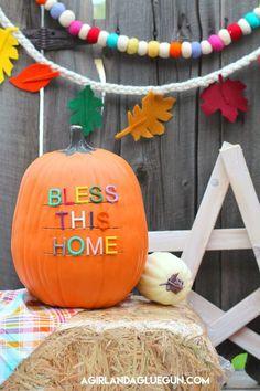 Letterboard Pumpkins
