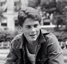young rob lowe hot damn