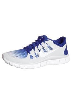 best website f1654 834cf Y1n2j Nike Free 5.0 + man shoes Hyper blue Platinum white - shoes HOT SALE!  HOT PRICE!