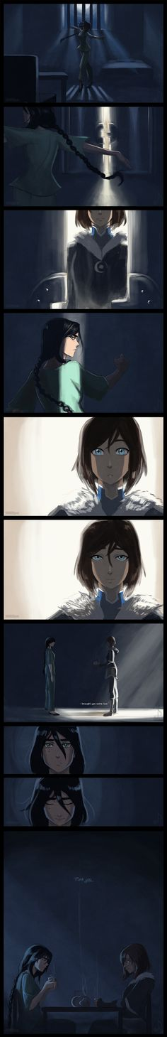 This is so beautiful :))) I really think that Korra would do this :}}}