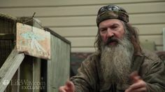 Duck Dynasty reality star Phil Robertson shares his powerful testimony about coming to know Christ. What an amazing witness! God bless him for using his famous platform to share the word of God! Phil Robertson, Robertson Family, Duck Commander, Churches Of Christ, Happy Today, Follow Jesus, Duck Dynasty, Jesus Saves, Inspirational Videos
