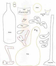 Artesanato e Cia : Moldes para Painel de Galinhas- patchcolagem/patchwork
