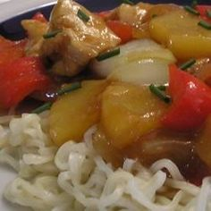 Stir-Fried Chicken With Pineapple and Peppers - Allrecipes.com