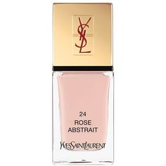 Yves Saint Laurent La Laque Couture ($28) ❤ liked on Polyvore featuring beauty products, makeup, face makeup, rose abstrait, polish makeup, yves saint laurent, yves saint laurent makeup and yves saint laurent cosmetics