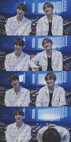 Both the smiles kill me Bts Taehyung, Bts Bangtan Boy, Bts Boys, Bts Jimin, Seokjin, Namjoon, Foto Bts, V And Jin, Jikook