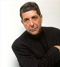 """""""Leonard Cohen Poses for a Portrait Photo. 1988: Canadian singer Leonard Cohen poses for a portrait."""" This is an eBay item offered by c7674. No photographer listed."""