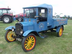 Unusual model TT Ford stake bed.cab and the fenders over the rear wheels are not typical at all.Judging by the license plate it may very well be a unit built and sold in Europe.