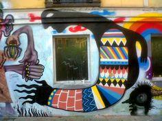 Graffiti Malasaña