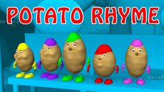 ★2 HOURS★ Potato Rhyme || Children Rhymes Nursery Songs with Lyrics || P...