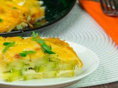 Dovlecei în sos delicios de brânză – o mâncare cu un gust fin și o aromă proaspătă!