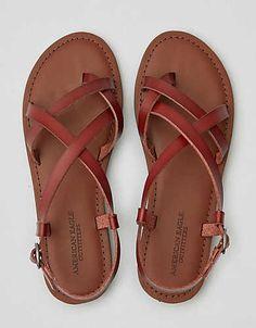 Independent America Eagle Women Black Sandals Slingback Size 7. Women's Shoes