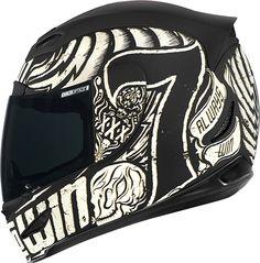 DirtnRoad.com - ICON - Airmada Lucky Time Helmet