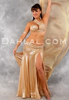 a5498ed4b1086 $697.46 GOLDEN HONEY by Designer Eman Zaki, Egyptian Belly Dance Costume  Belly Dance Bra,