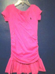 Ralph Lauren Pink Dress Girls SIze 6 Pink Ralph Lauren Dress Girls Size 6 #RalphLauren