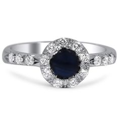 Modern Sapphire Vintage Ring | Gusty | Brilliant Earth