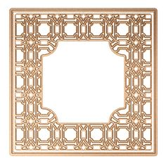 S6-061 Card Creator Art Deco - Deco Lux Card Front Etched Dies