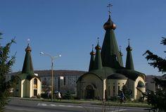 Church in Svidnik, Slovakia. Photo © Franz Bauer.
