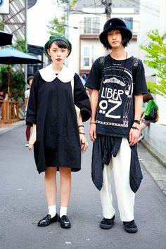 Яркие краски молодежной моды Японии
