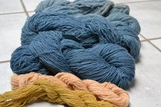 Dyeing with woad and Japanese indigo from my garden