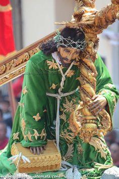 Consagrada Imagen de Jesus Nazareno de la Caida, San Bartalome Becerra, Antigua Guatemala