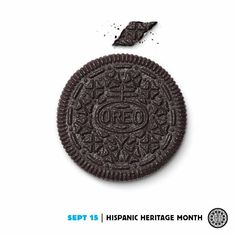 Raise your glass of milk to all our Hispanic fans in honor of their heritage this month! Mexican Independence Day, Spanish Holidays, Hispanic Heritage Month, Web Business, Cute Food, Print Ads, Mexicans, Oreos, Advertising Campaign